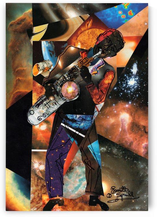 Cosmic SAX by Everett Spruill