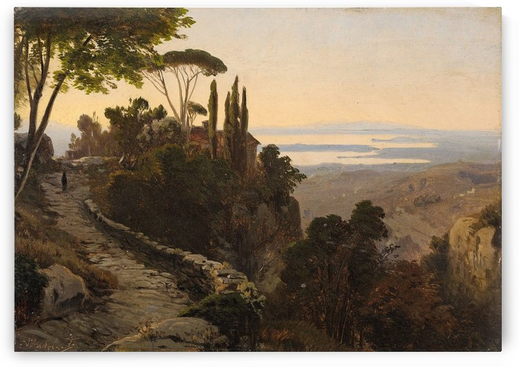 Italian Landscape by Richard Wilson