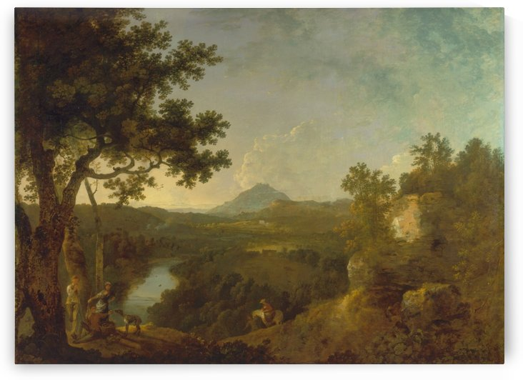View near Wynnstay by Richard Wilson