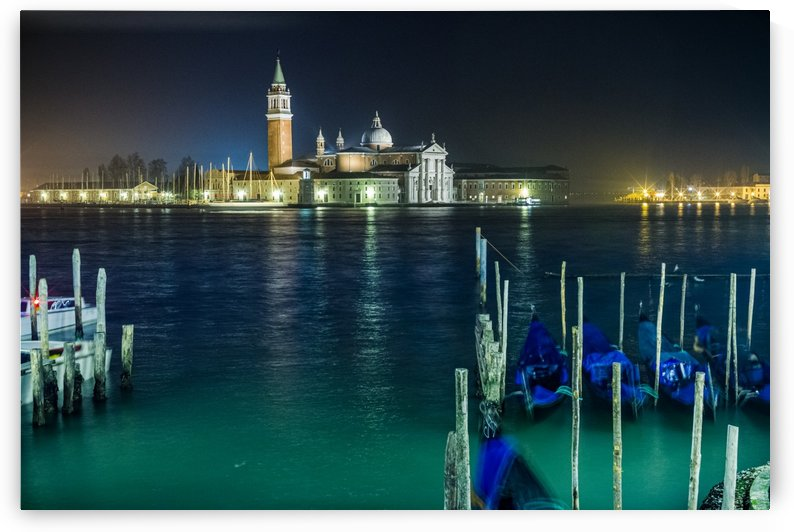 Venice by night by Filippo Manaresi