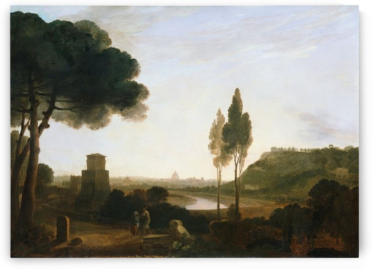 Rome and the Ponte Molle by Richard Wilson