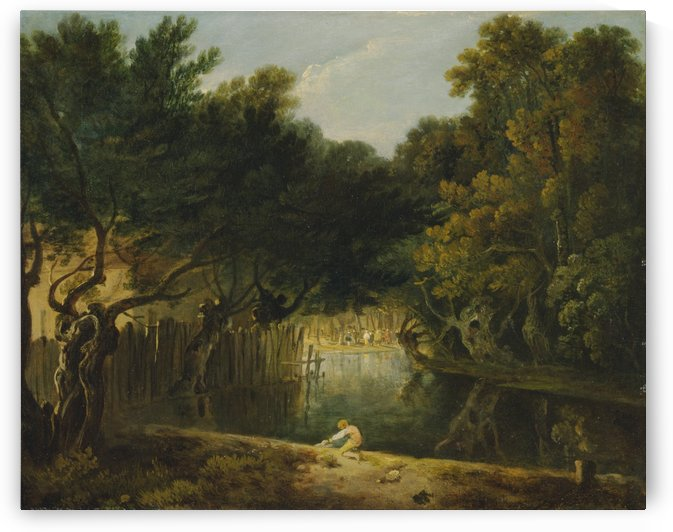 View of the Wilderness in St. James's Park by Richard Wilson