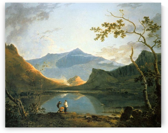 View of Snowdon by Richard Wilson