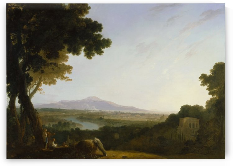 Rome from the villa Madama by Richard Wilson