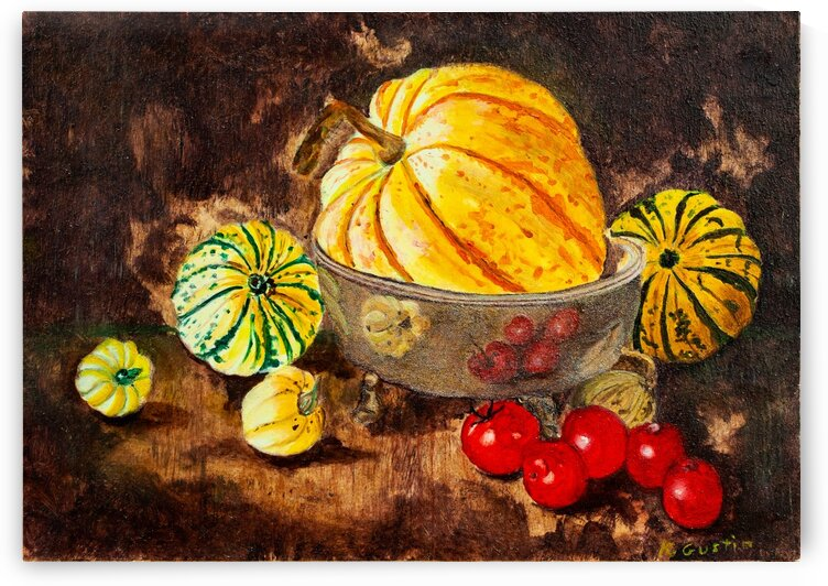 STILL LIFE 01 - ORIG FOR SALE by Keith Gustin