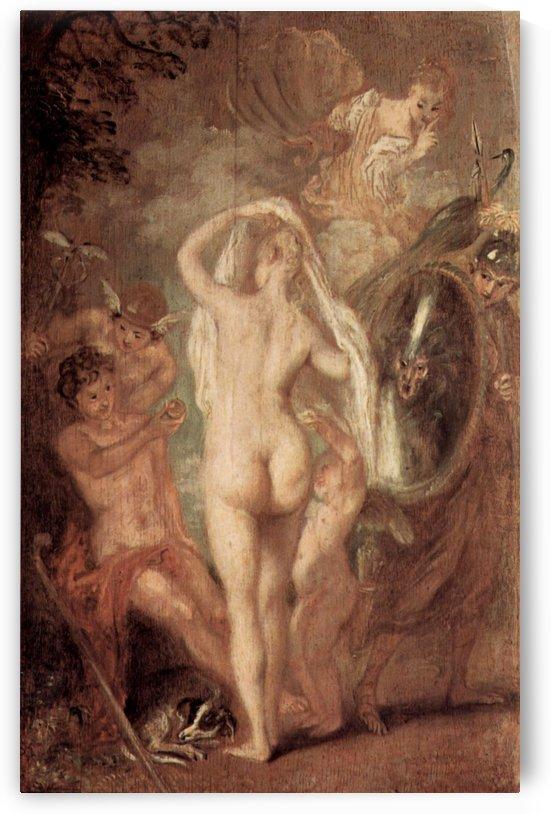Le jugement de Paris by Antoine Watteau