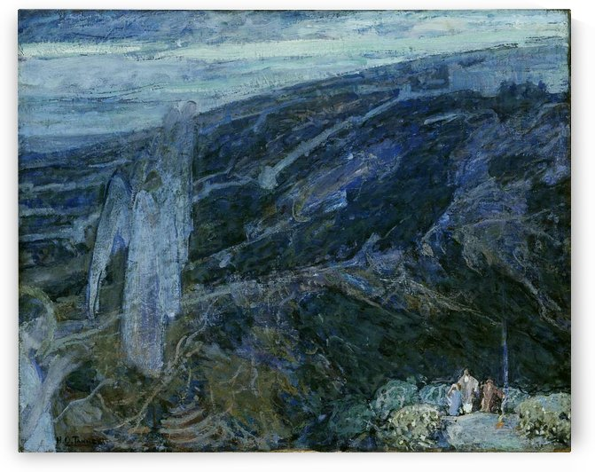 Angels Appearing before the Shepherds by Henry Ossawa Tanner