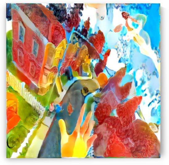 Vibrant Art by Art-Works