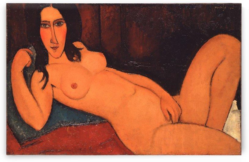 Reclining Nude by Maestro_Joe