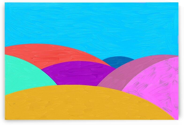 Fabulous hills by Radiy Bohem