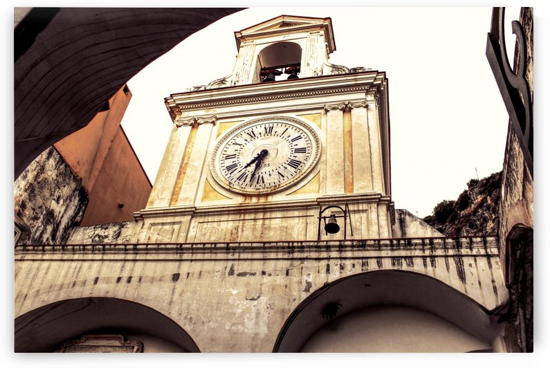 The Church  - Tower Clock by Bentivoglio Photography