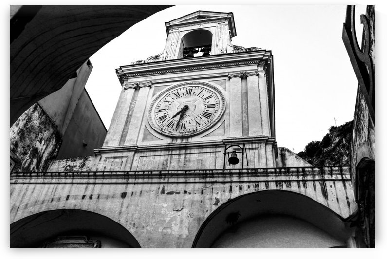 The Church - Ancient Tower Clock by Bentivoglio Photography