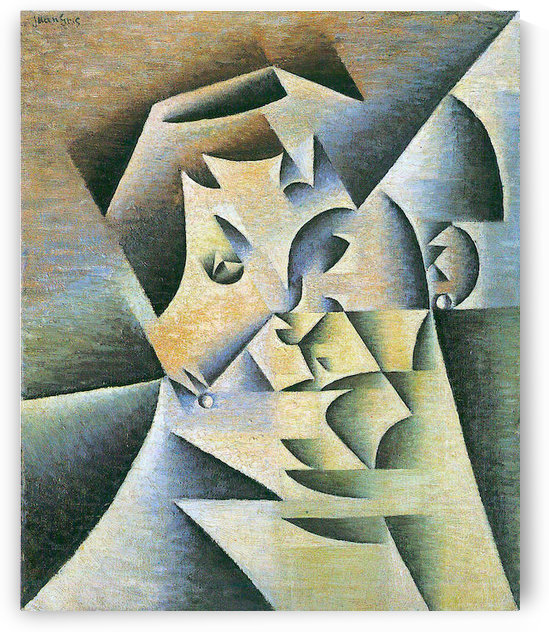 Portrait of the mother of the artist by Juan Gris by Juan Gris