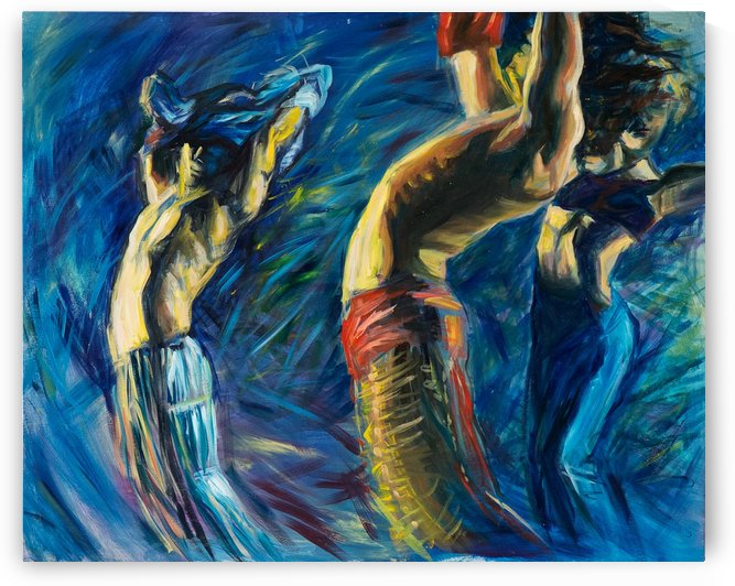 Dancing in the night by Natalia Ishtrikova Artemidy