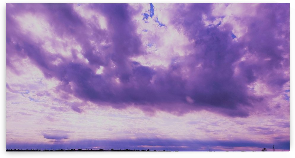 Purple skies by VanessasPhotography