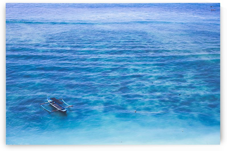 Calm crystal blue sea Bali by Emmi Torikka