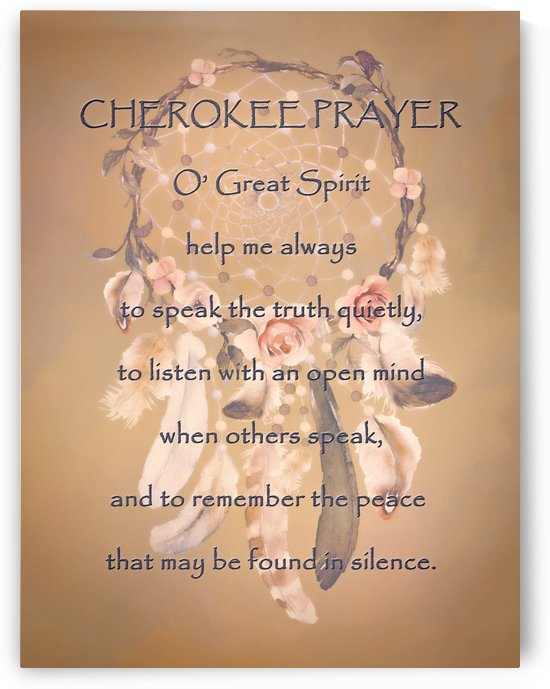 Cherokee Prayer by HH Photography of Florida