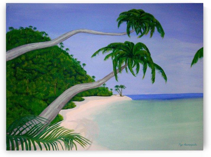 Tropical Invitation by Faye Anastasopoulou