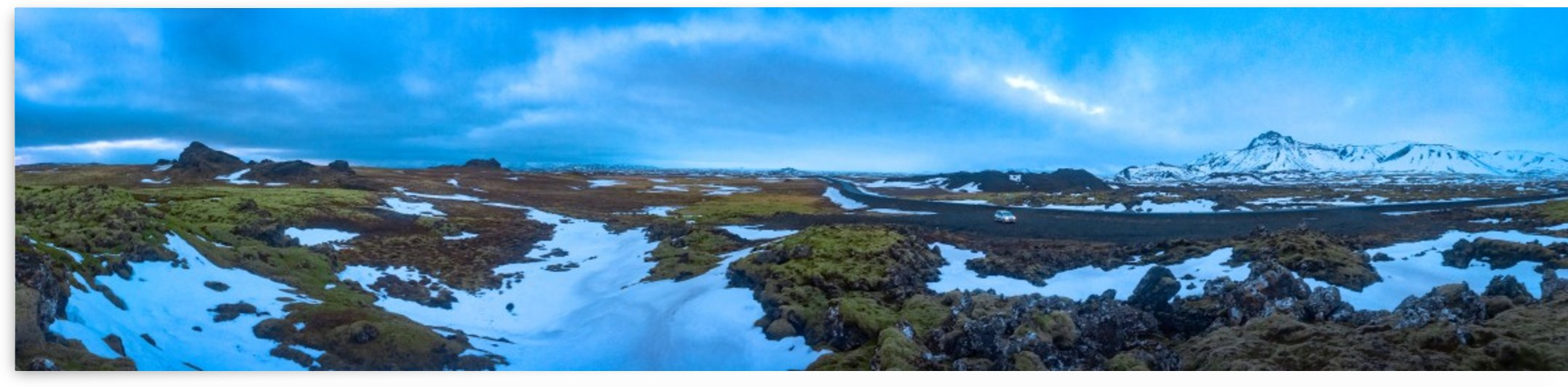 Iceland panorama by By the C Media