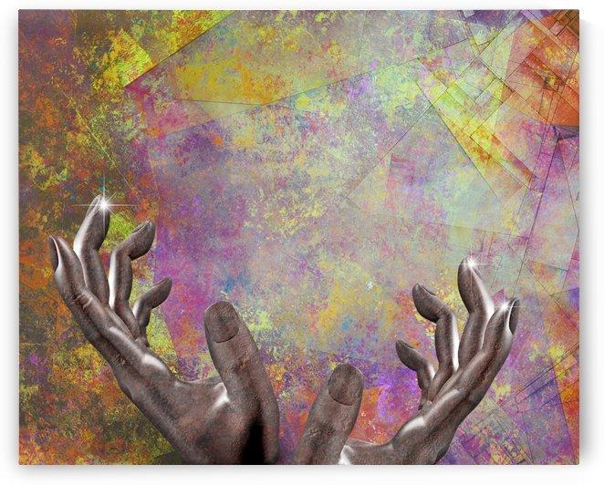 Artist Hands by Bruce Rolff