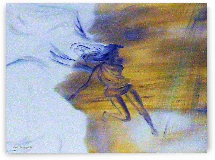 Emerging Angel by Faye Anastasopoulou