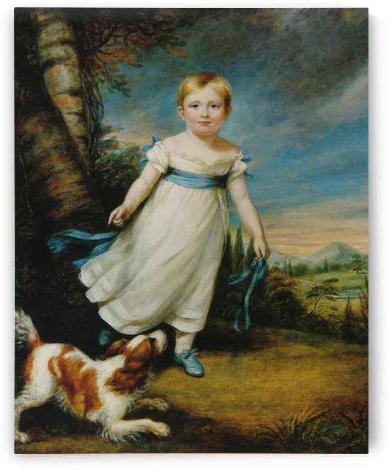 John Ruskin at the age of three and a half by John Ruskin