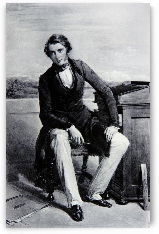 Portrait of John Rusken by John Ruskin