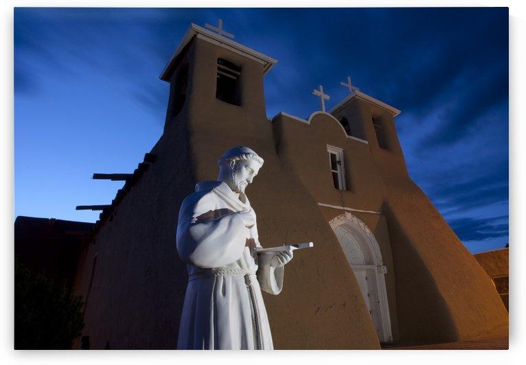 Padre de Francisco de Asis Mission by Eliot Scher