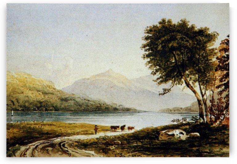 Copley Fielding's Loch Achray by John Ruskin