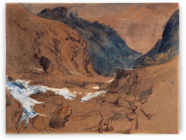The Pass of Faido on the St Gotthard by John Ruskin