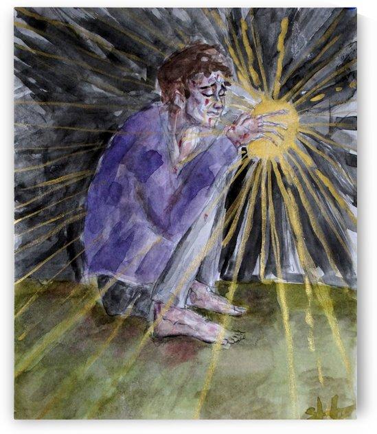 New light hurts  by Steven Allison