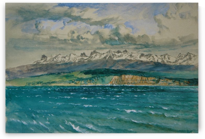Afternoon in Spring with South Wind at Neuchatel by John Ruskin