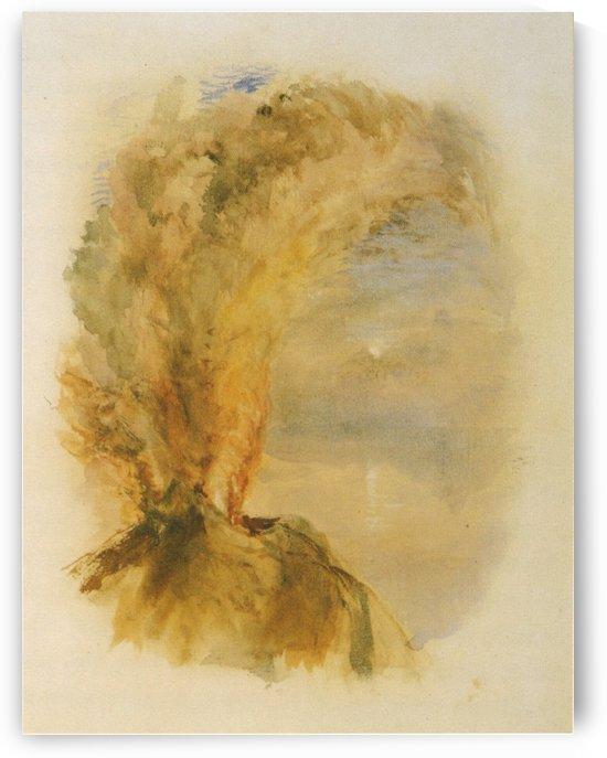 Vesuvius in Eruption by John Ruskin
