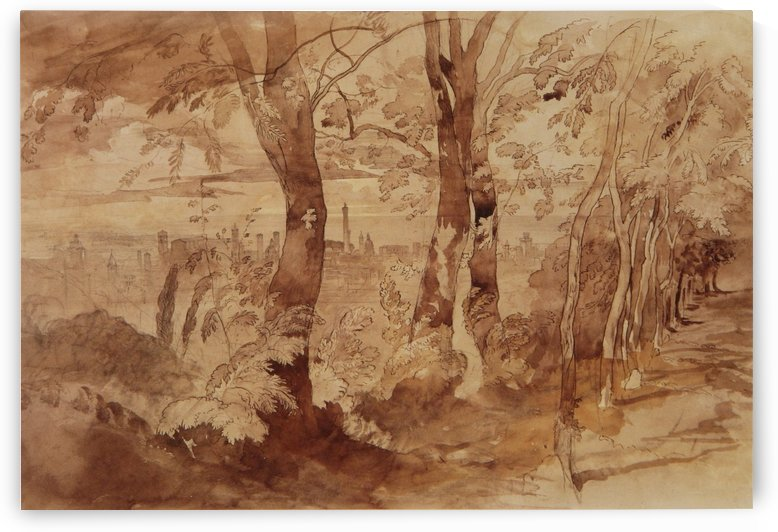 View of Bologna by John Ruskin