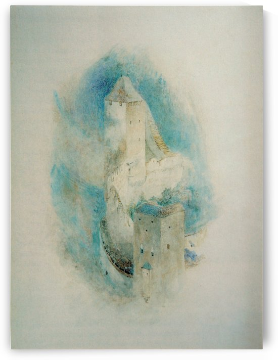 Towers of Fribourg by John Ruskin
