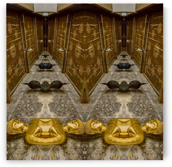 Bangkok - Buddha 4 by Hazz Brad