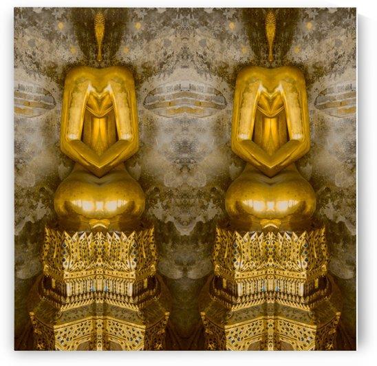 Bangkok - Buddha 1 by Hazz Brad