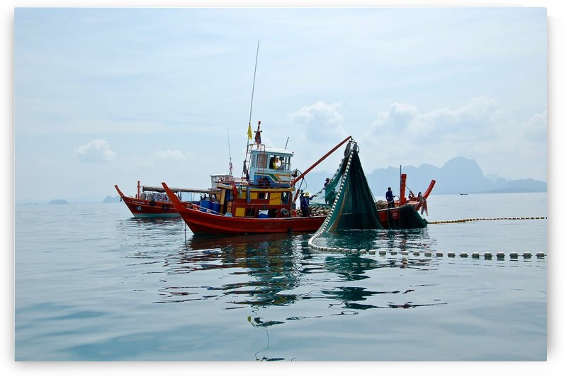 Bangkok - The Fisherman by Hazz Brad