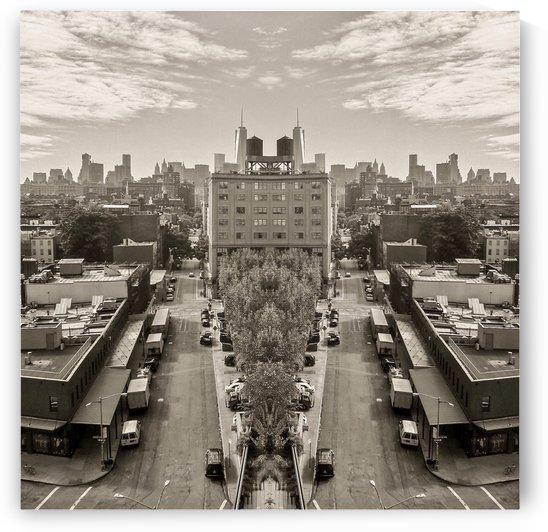 NYC - City Distorted6 by Hazz Brad