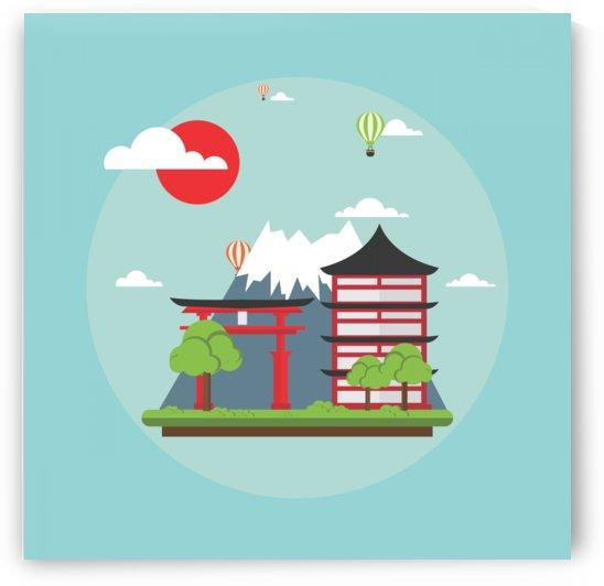 japan landmark landscape view by Shamudy