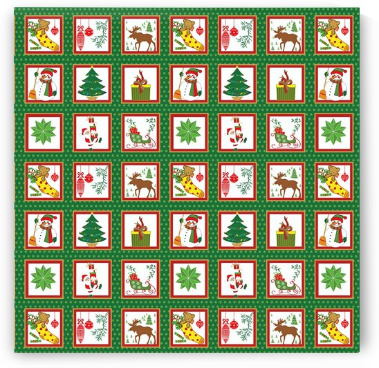 christmas paper christmas pattern by Shamudy