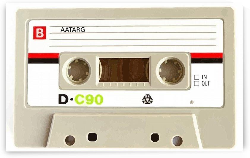 cassette tape recorder vintage old by Shamudy
