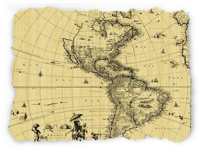 map vintage old ancient antique by Shamudy