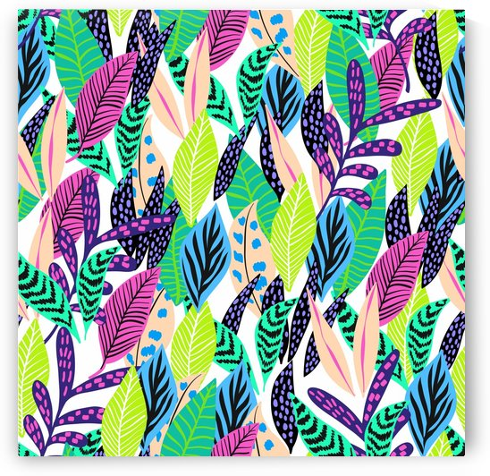 leaves drawing pattern nature by Shamudy