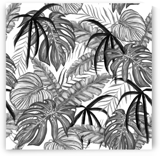 drawing leaves nature picture by Shamudy
