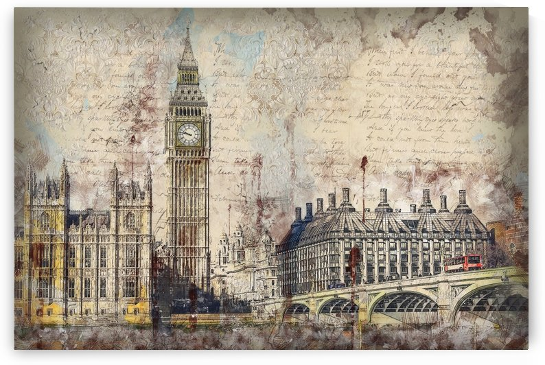 london westminster bridge building by Shamudy