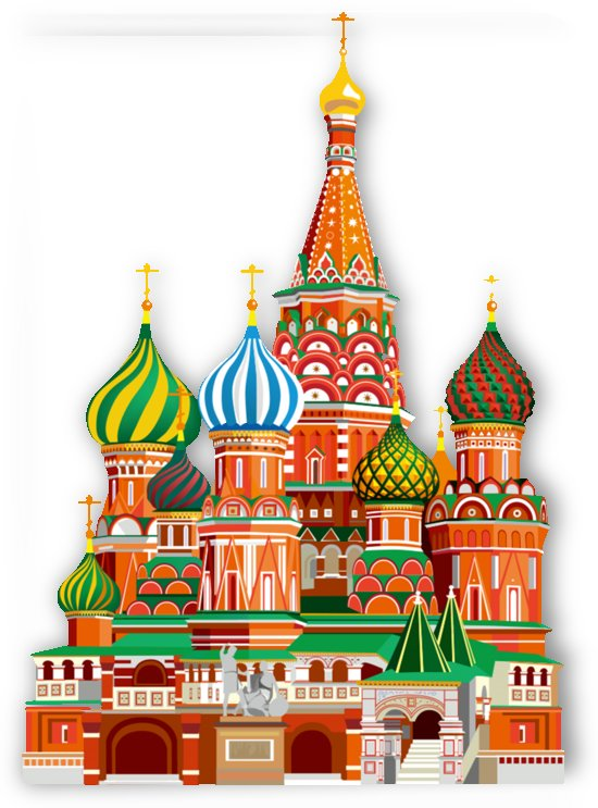moscow kremlin saint basils cathedral red square l vector illustration moscow building by Shamudy