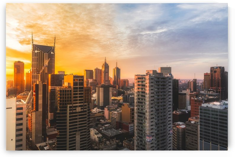 view of high rise buildings during day time by Shamudy