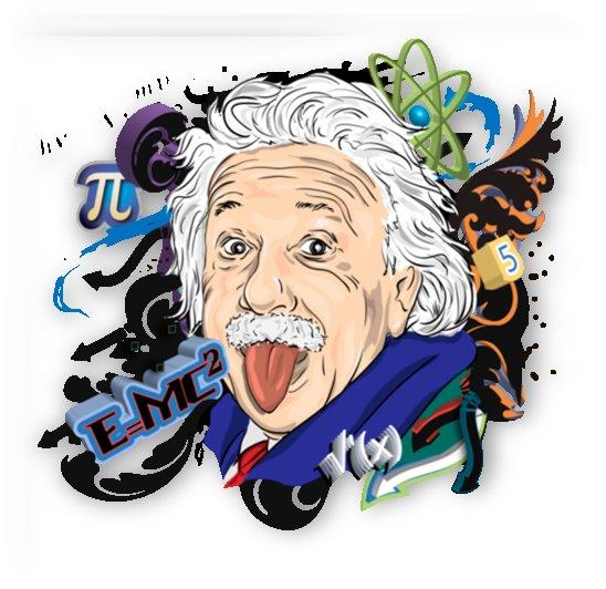 albert einstein physicist by Shamudy