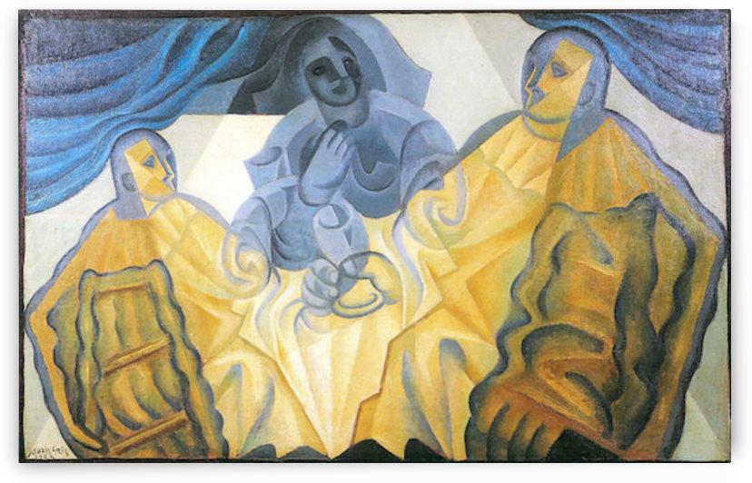 Three masks by Juan Gris by Juan Gris